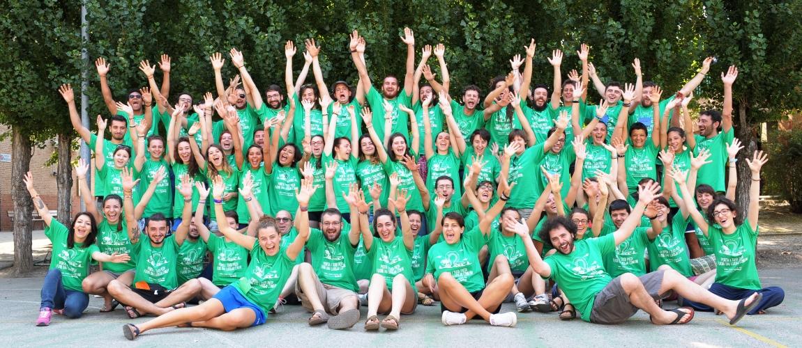 Volontari di ritorno dai campi di volontariato di IPSIA Terre e Libertà