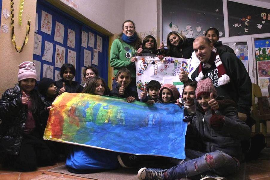 Francesca Palmieri campo volontariato Terre e Libertà Bosnia