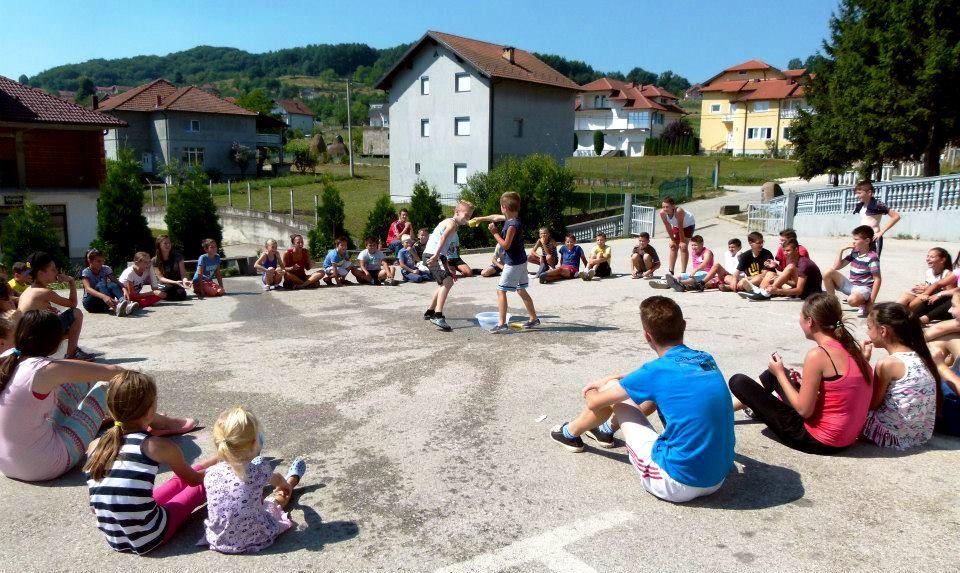 Animazione nei campi di volontariato estivo di Terre e Libertà