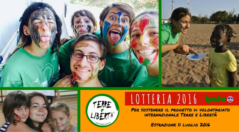 Lotteria di IPSIA per volontariato internazionale