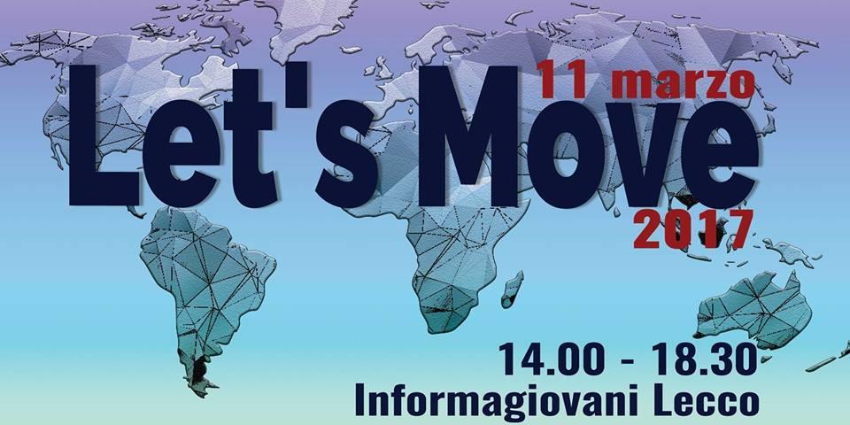 Presentazione campi volontariato a Lecco 2017 - Let's Move
