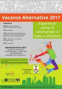 Vacanze Alternative 2017 - la presentazione
