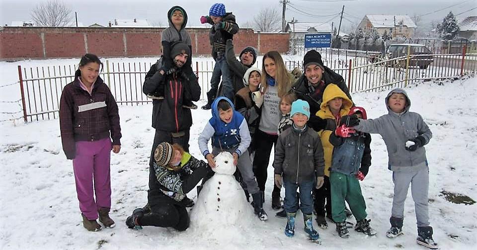 campo di volontariato inverno kosovo
